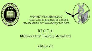 Simpozionul BIO.T.A. – BIOdiversitate, Tradiții si Actualitate